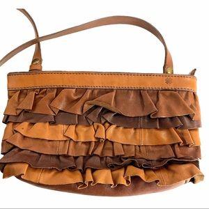 🍀 Lucky Brand Leather Crossbody Handbag